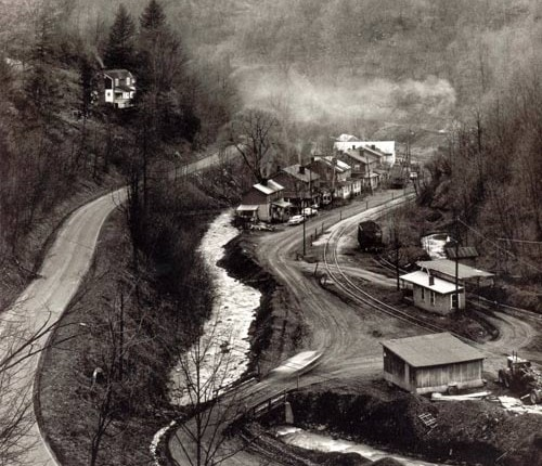 Coal camp near Grundy, Virginia