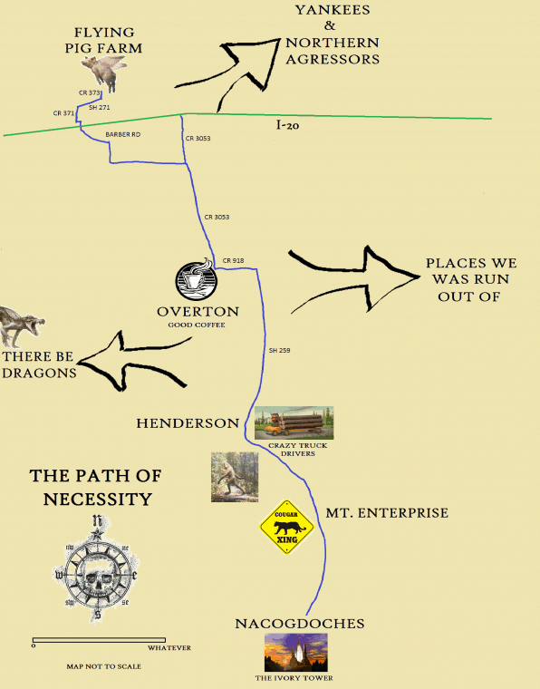 This is my route.