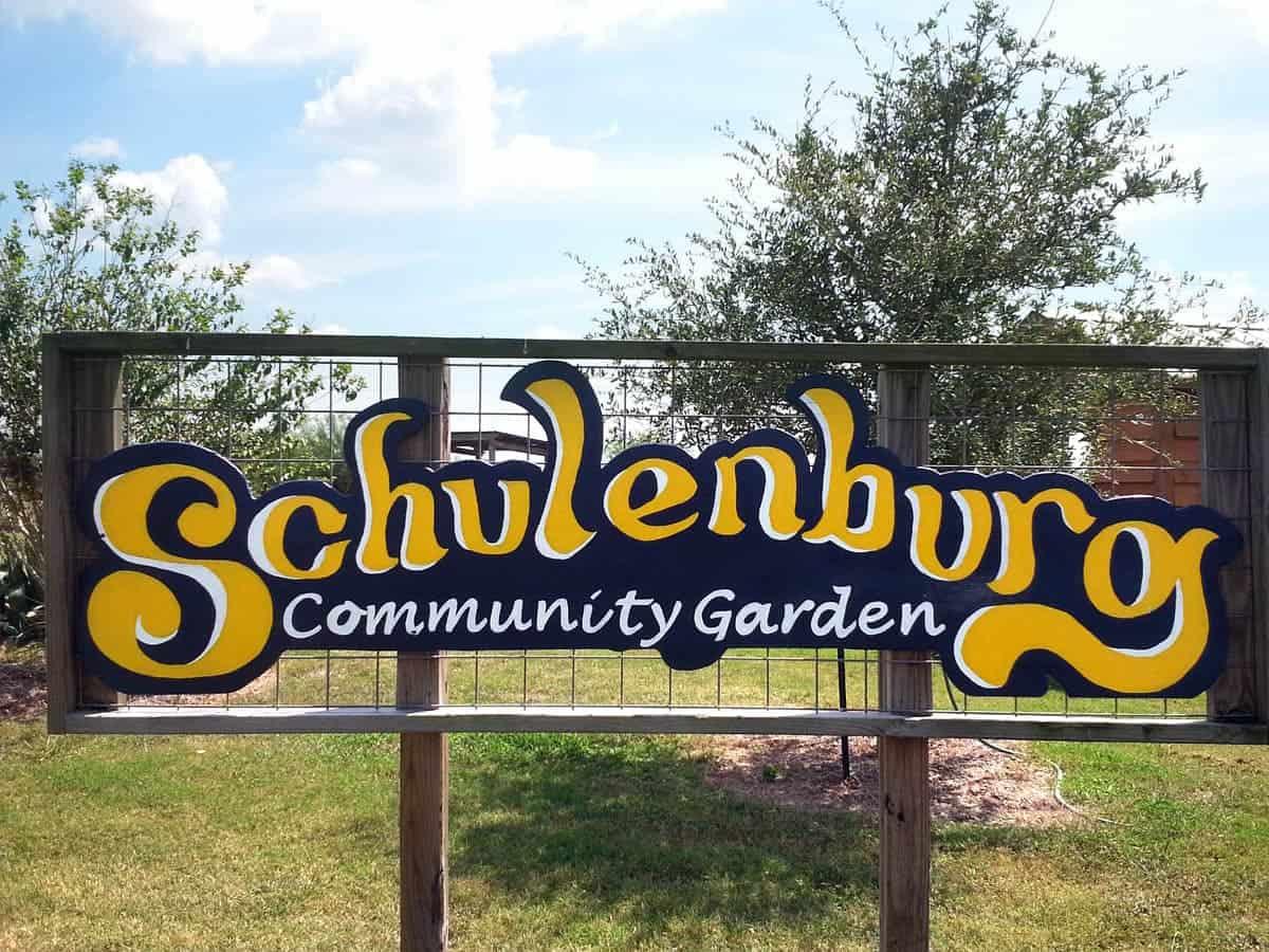 Schulenburg Community Garden 2