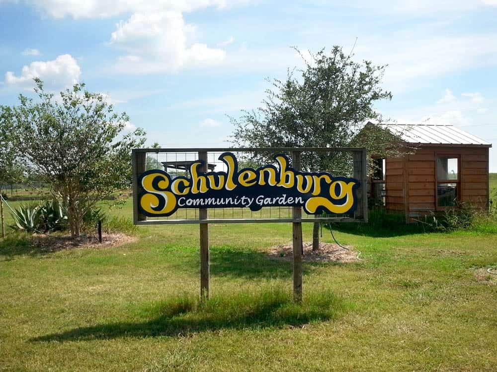 Schulenburg Community Garden
