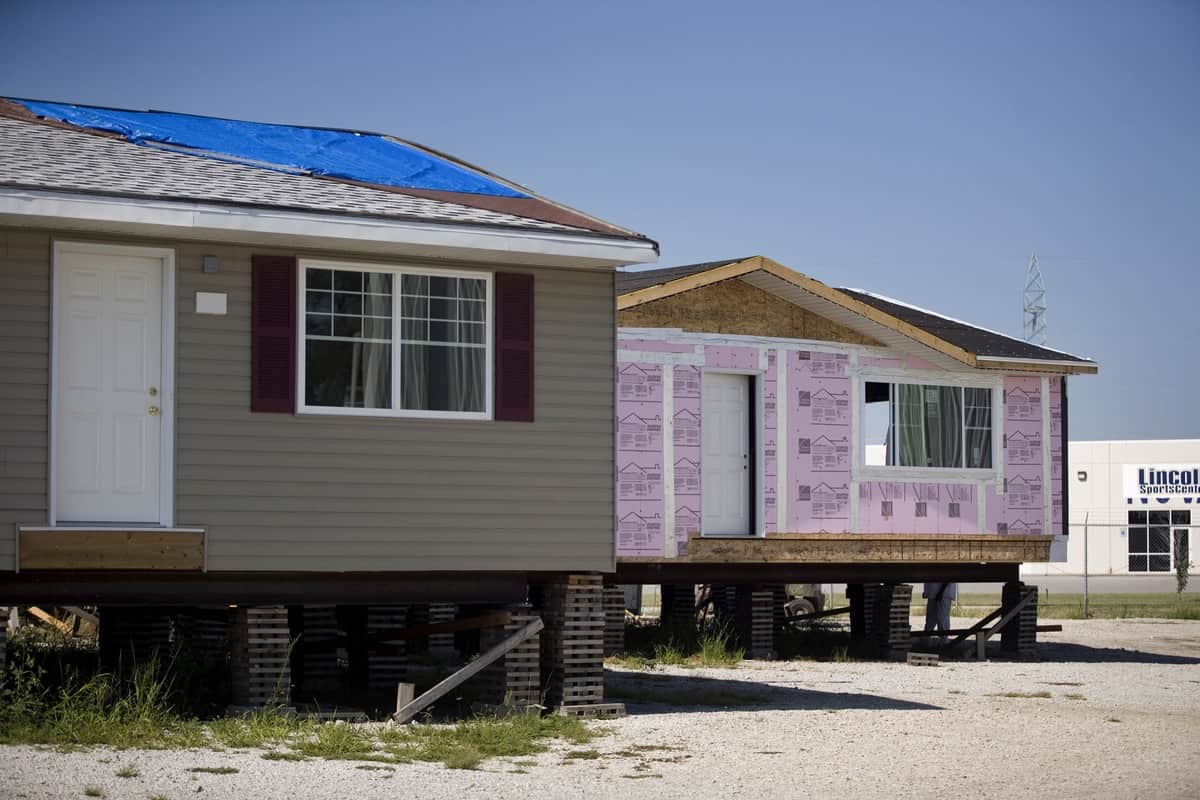 An  increase of high-interest mortgages is likely related to a rise in sales of manufactured housing in rural areas.