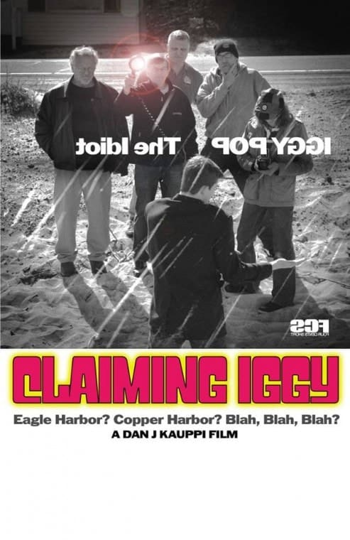 """The poster for """"Claiming Iggy."""""""