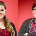 Left to right: Braiden Sunshine, Shelby Brown, Jordan Smith, and Emily Ann Roberts are top 10 contestants on The Voice.