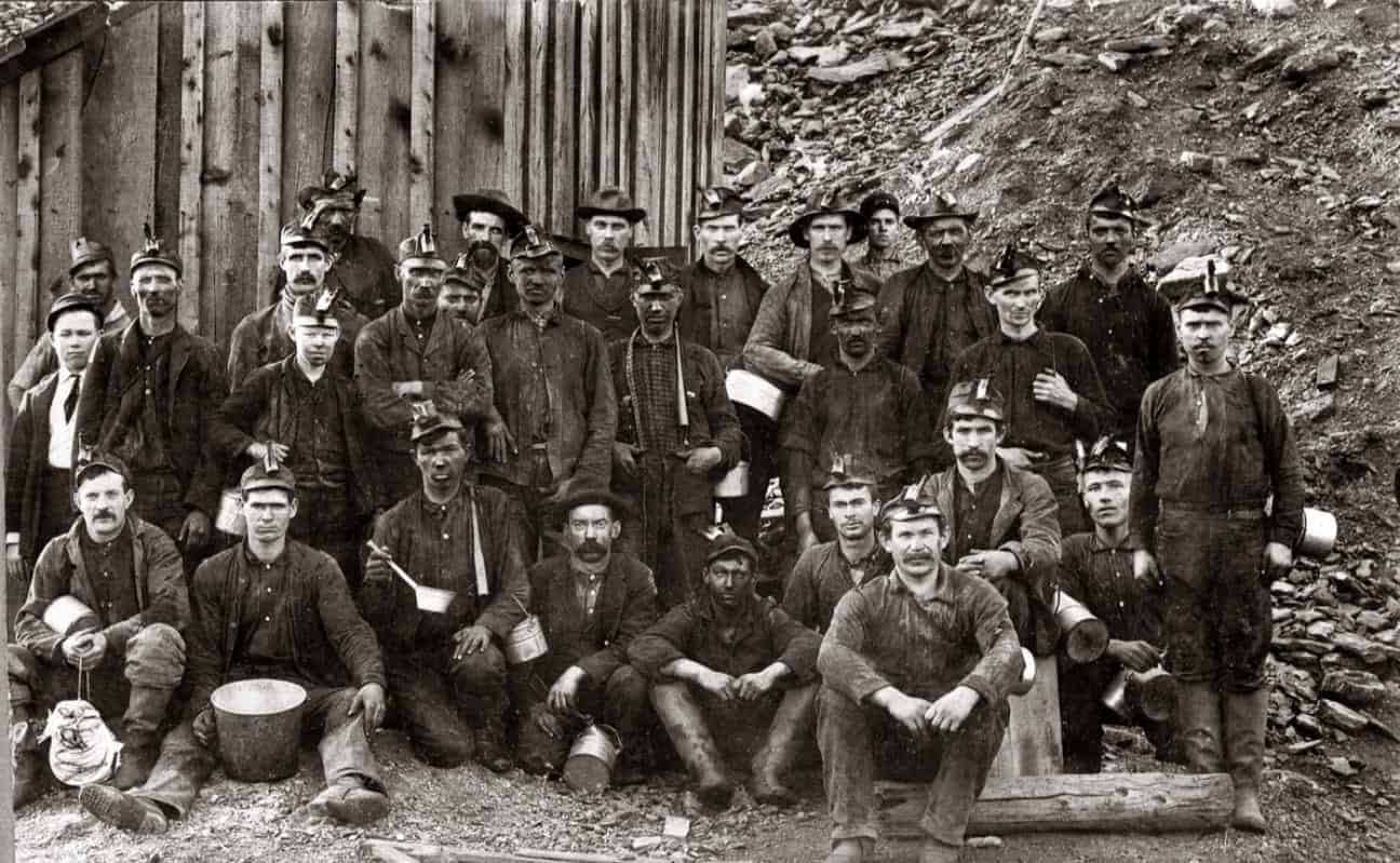 Immigrants were a major part of the labor force that developed American coal mining.