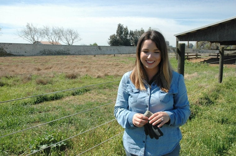 Anjelika Locke, California, wishes to expand her organic chicken farm.