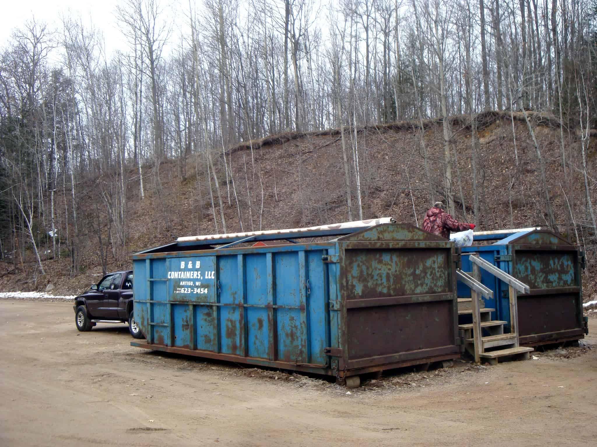 1 – Transfer Station Garbage bins