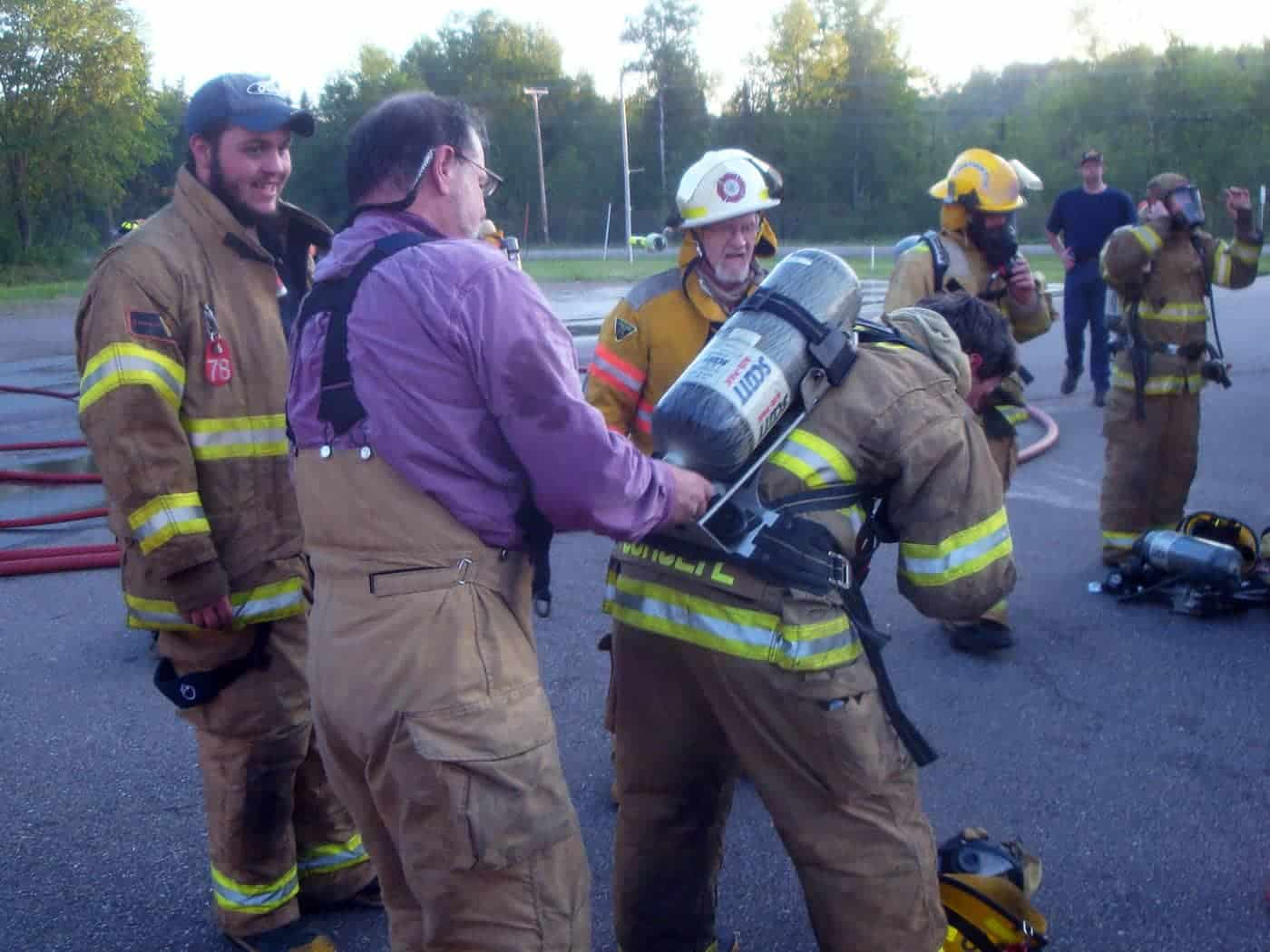 3 – Fire Department gearing up for propane training