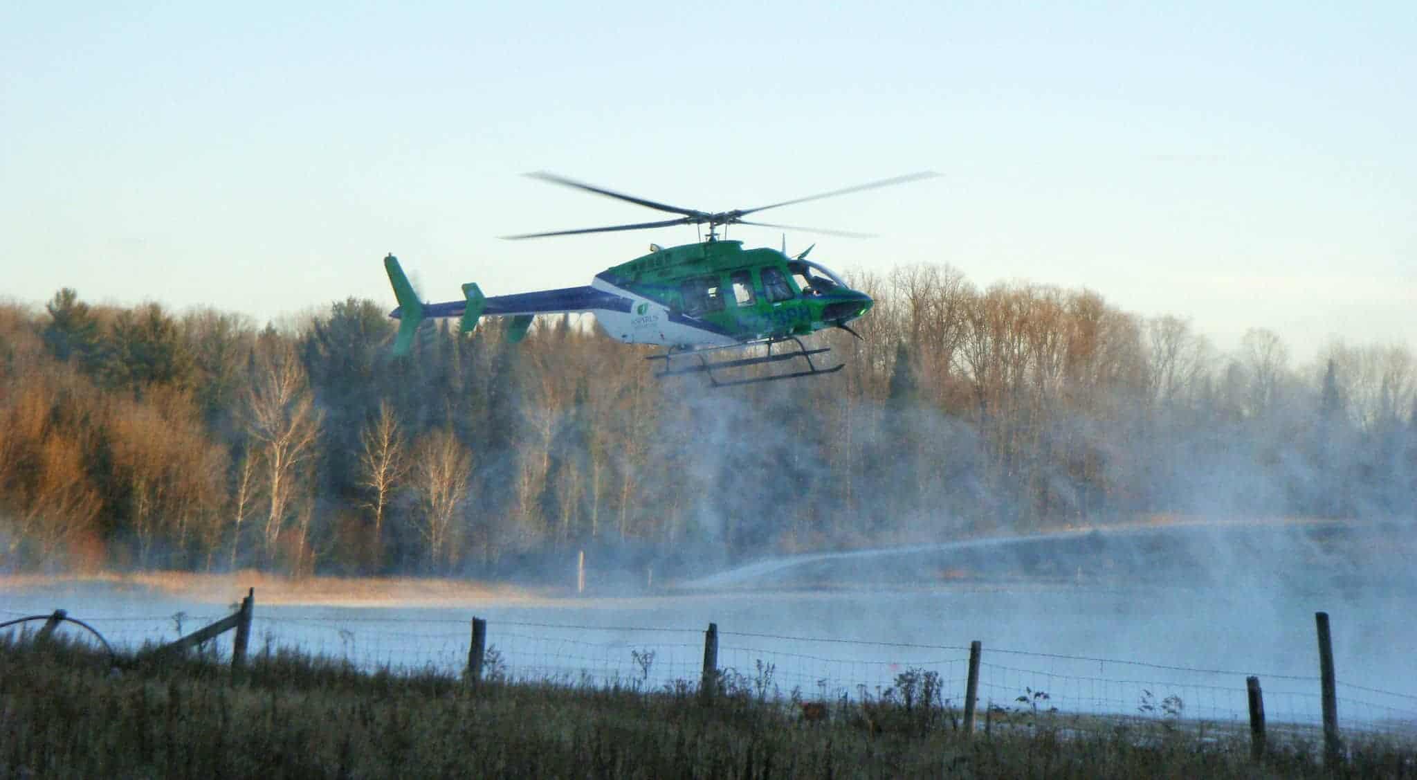 4 – medical helicopter