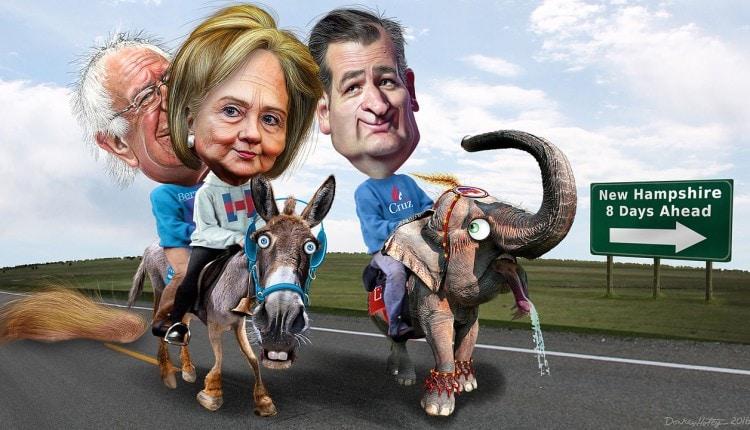 Iowa_Caucus_Winners_-_political_cartoon_by_DonkeyHotey_(24653531072)