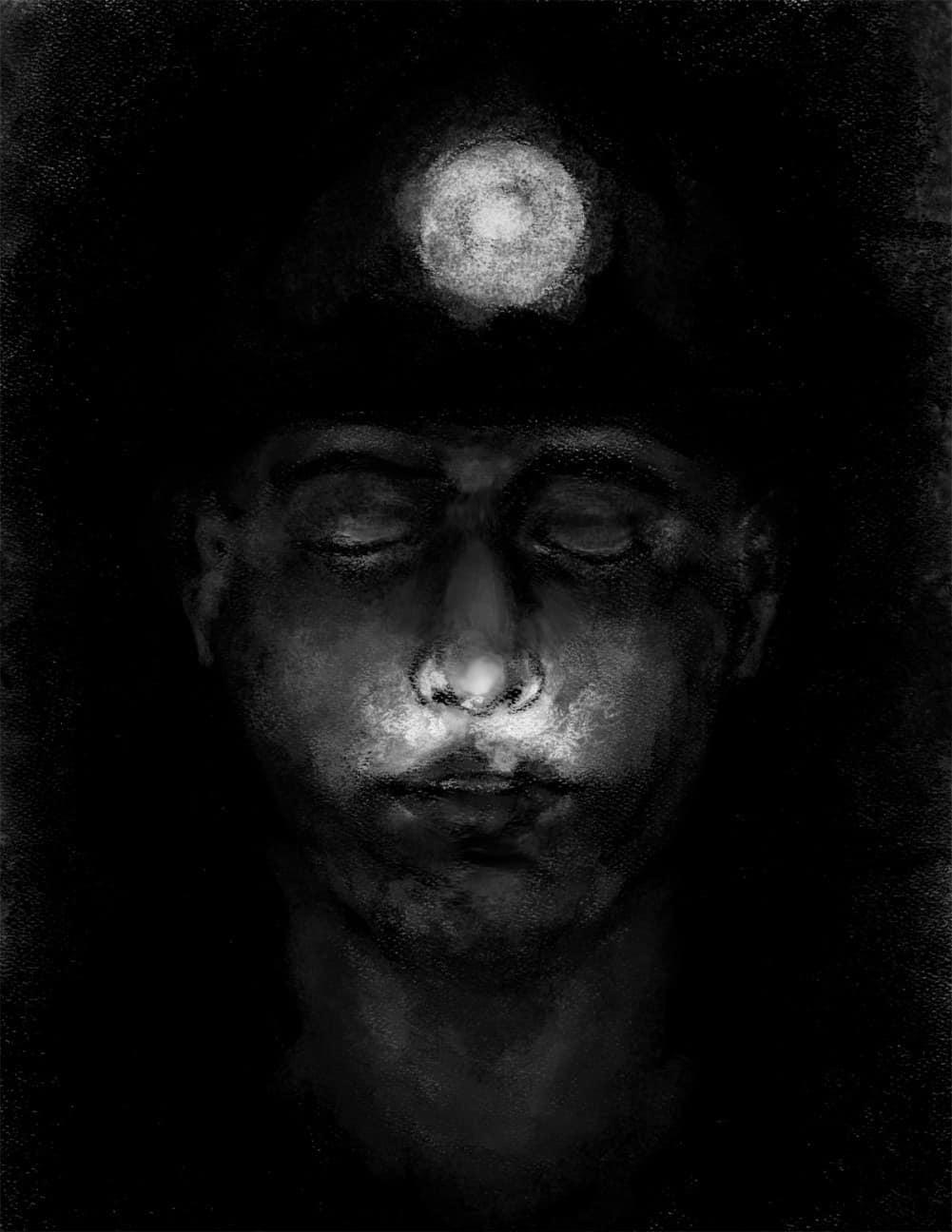 "Illustration. ""Crushed Pills."" Alison Petrash www.inspiredape.com"