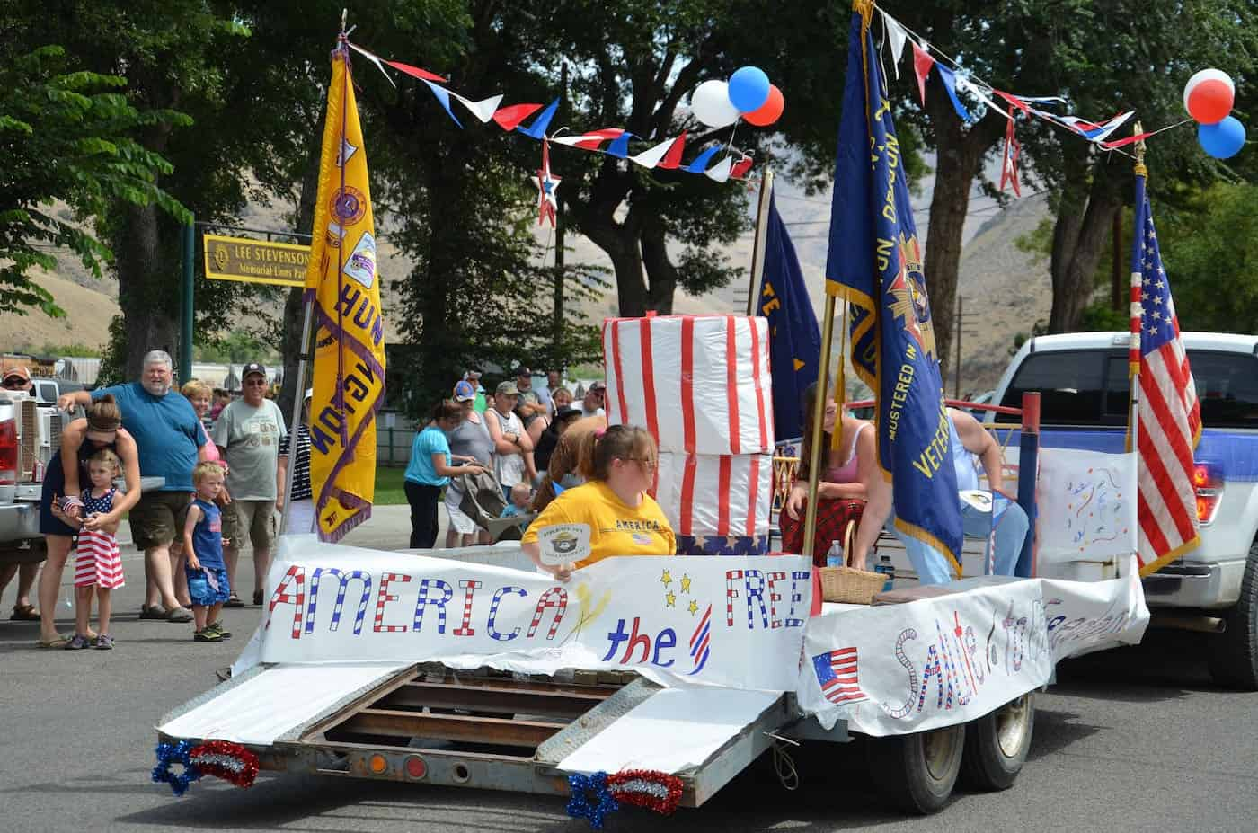 A 4th of July parade in Huntington, Oregon. Photo by Baker County Tourism/Flickr