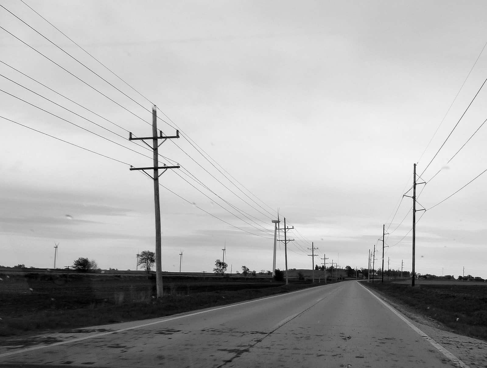 Power lines, near Galena, Illinois. Photo by jelm6/Flickr