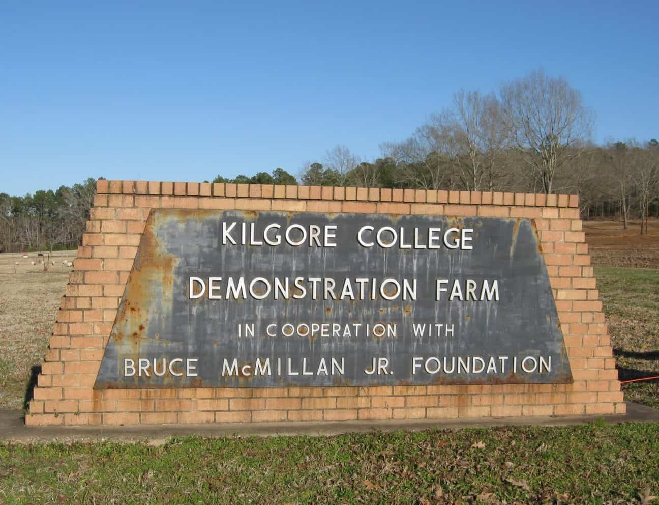 Kids can learn about working a real farm on the Kilgore College Demonstration Farm, where I live