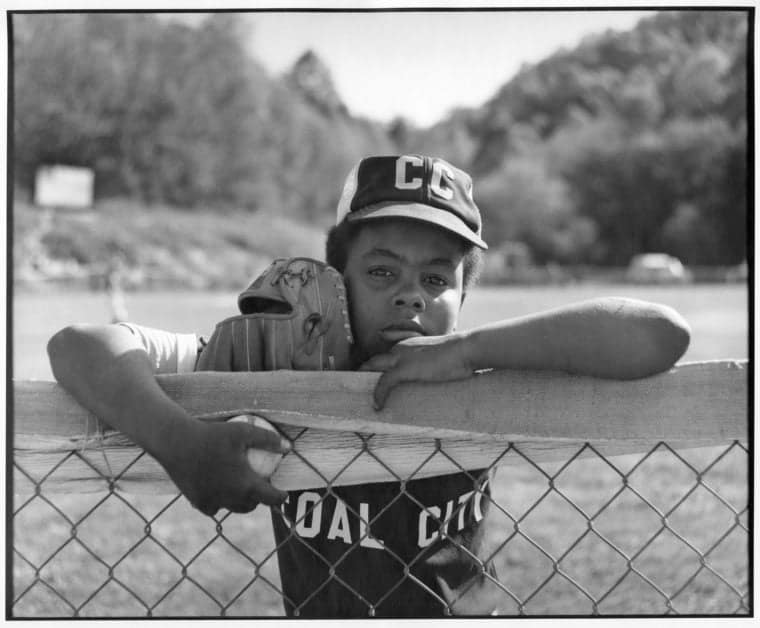 Little League Ball Player. Beckley, West Virginia