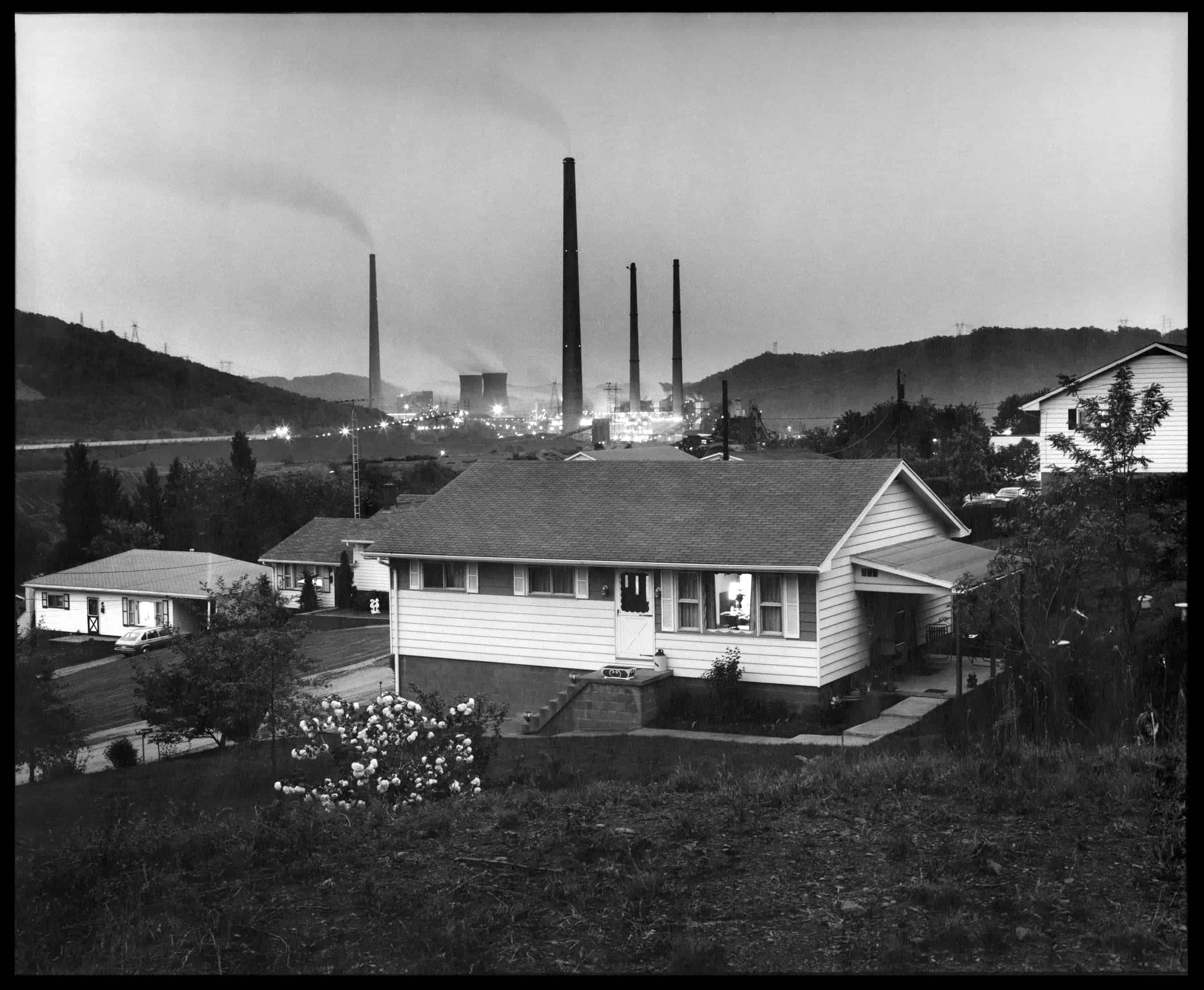 Home and Powerplant. Powhatan Point, Ohio