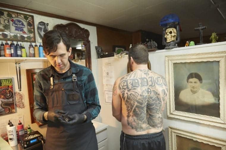 Tattoo Artist. Letcher County, Kentucky. 2015.