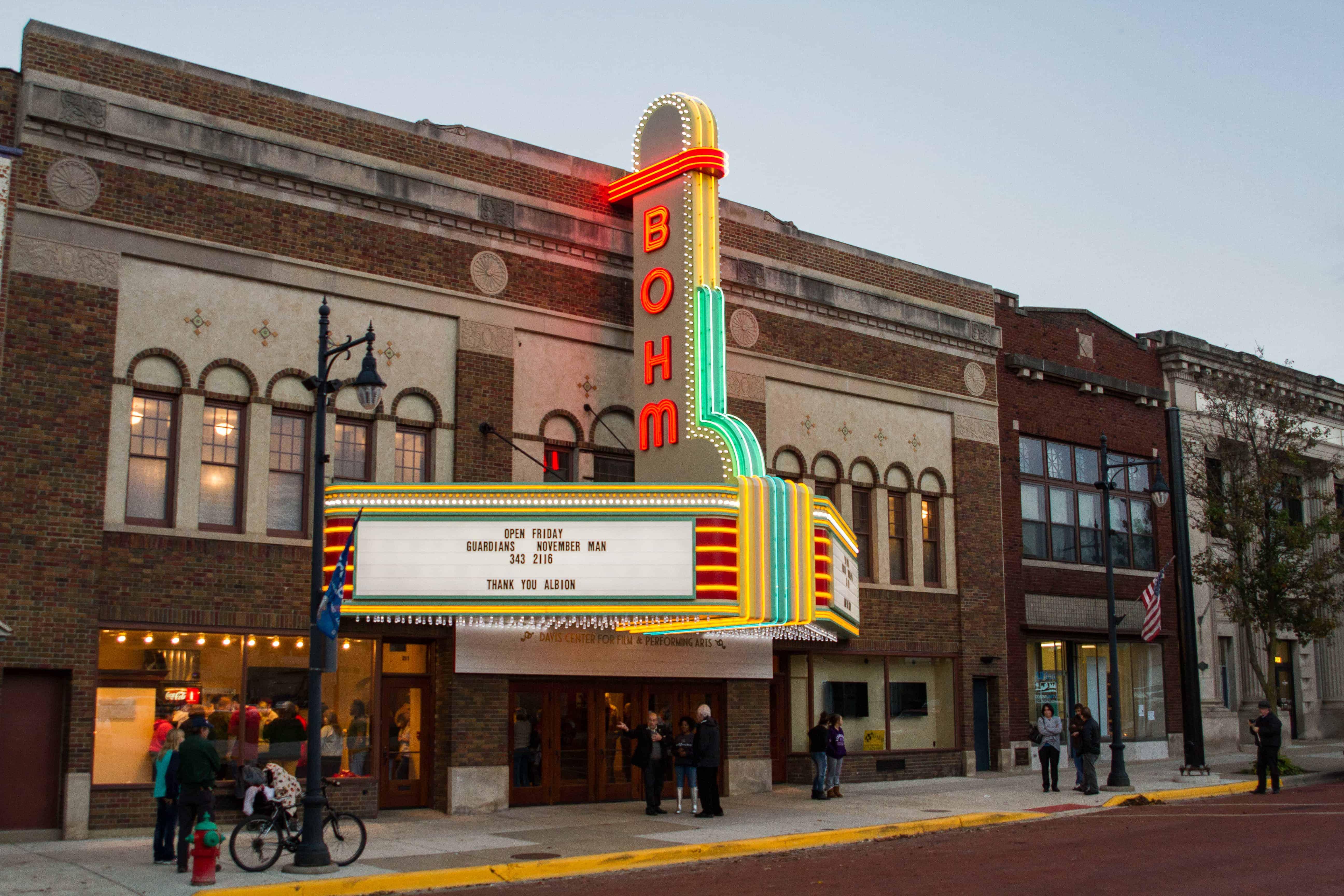 The Albion Community Foundation raised around $4 million to restore the historic Bohm Theatre in Albion, Michigan.