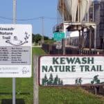 The Kewash Nature Trail in Keota, Iowa. Photo courtesy of Melinda Eakins