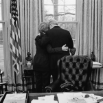 The author wonders what would have happened if the Clintons had moved back to Arkansas after the President's term was up in 2001 instead of hunkering down in New York and DC. Photo by Diana Walker for Time