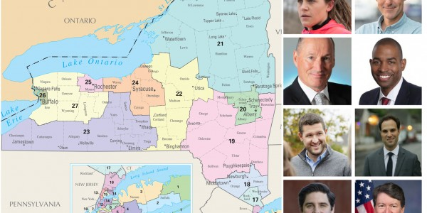 Map Of New York 19th Congressional District.N Y Dems Look For New Strategy In 2 Rural Districts Daily Yonder