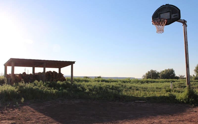Basketball at breakneck pace a way of life on Navajo reservation