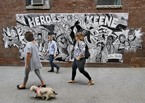 Downtown Mural Art from The Sentinel