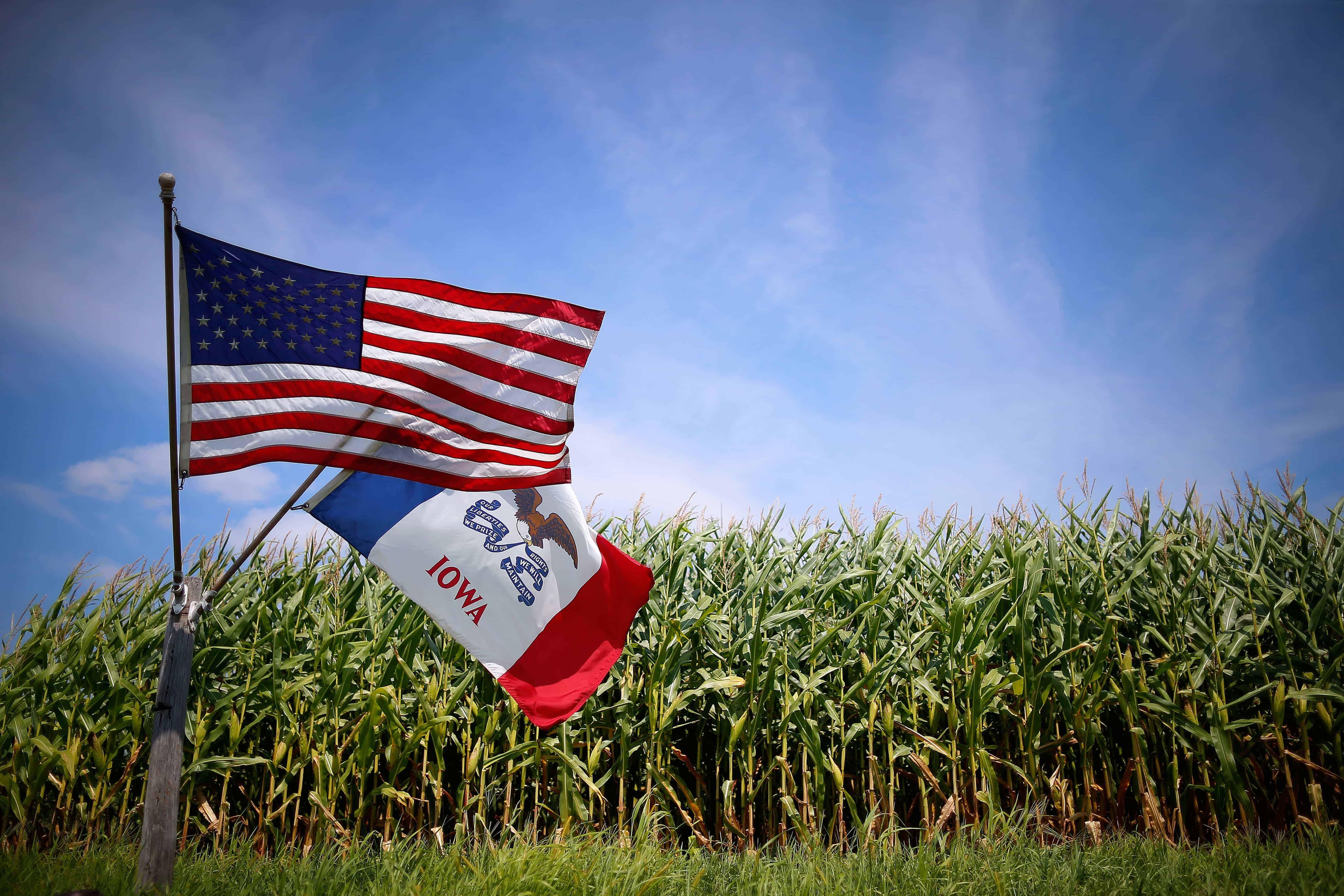 Feeling forgotten: Iowa's rural communities. (Photo by Jim Young/REUTERS)