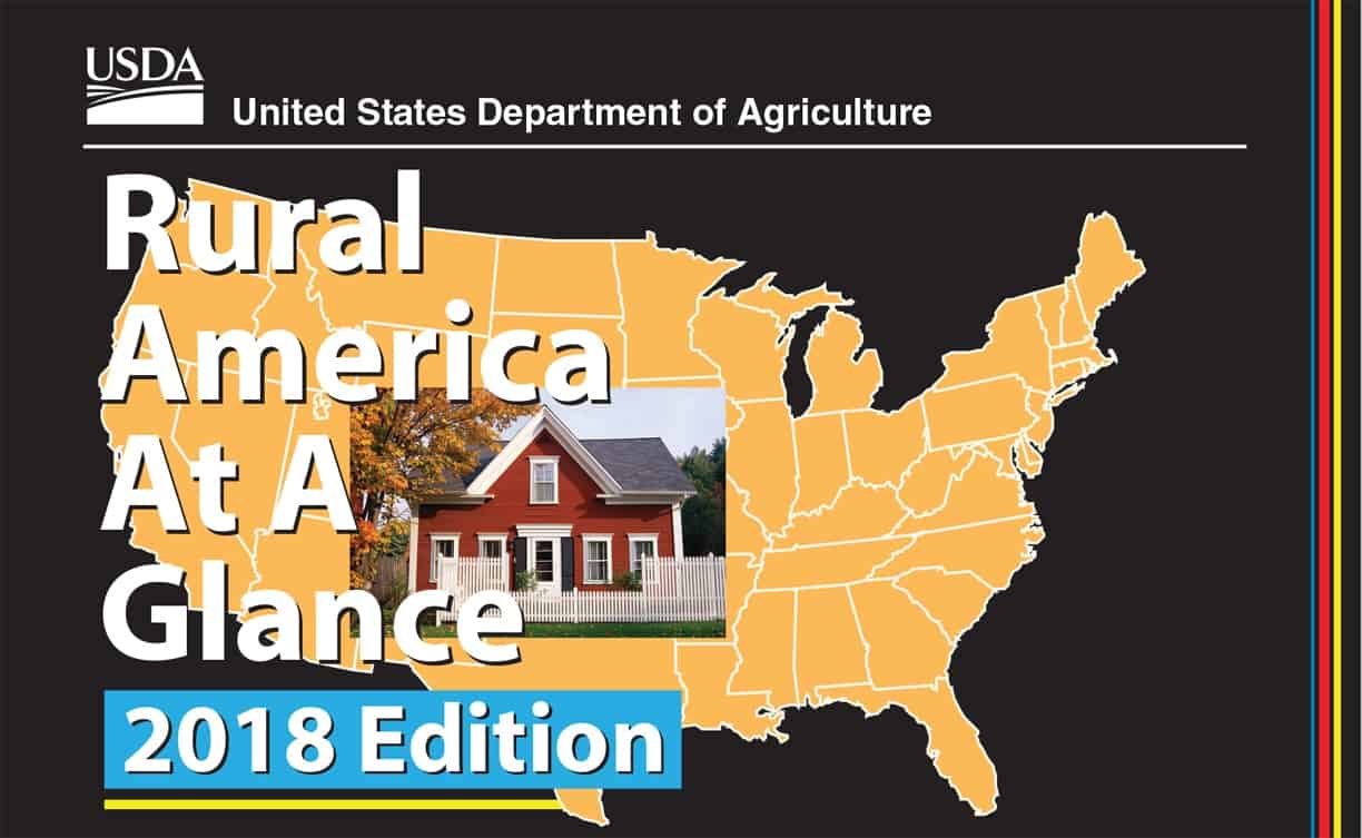 Rural America at a Glance, 2018 Edition