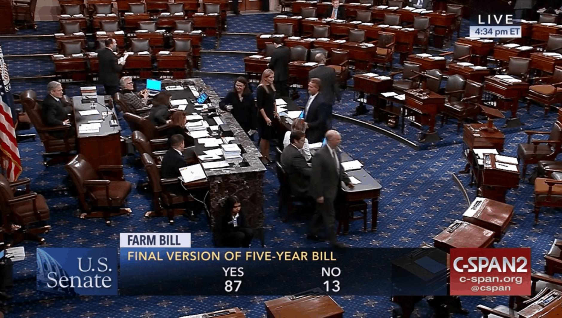 farm bill passage