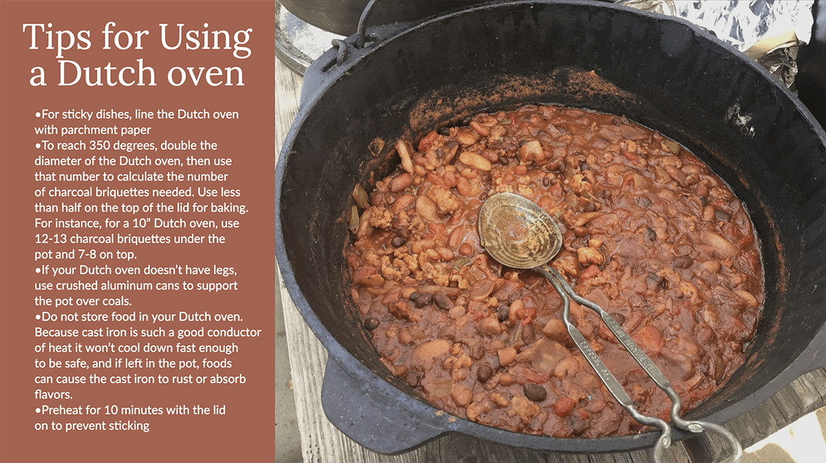 dutch oven tips