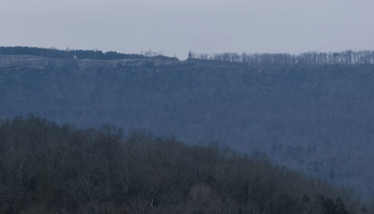 cumberland plateau from valley 2019