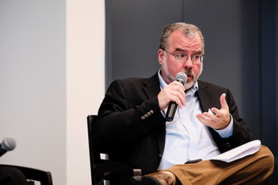 Journalists Ken Ward Jr.