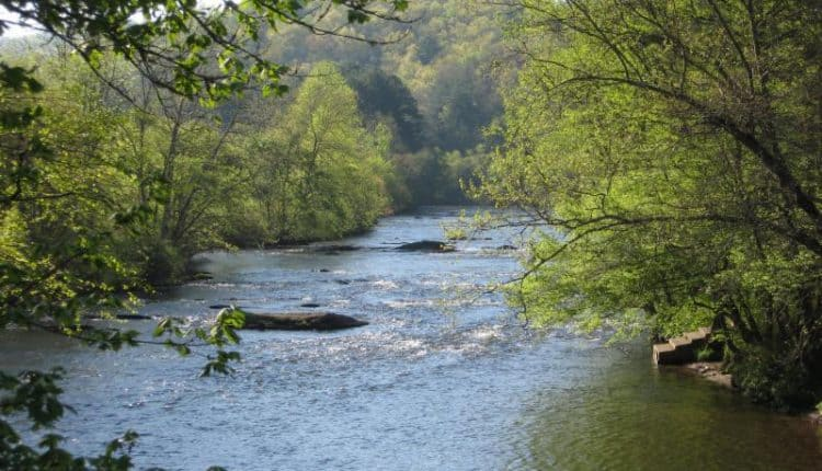 The Hiwasee River. (Photo courtesy of Hiwassee River Watershed Coalition)