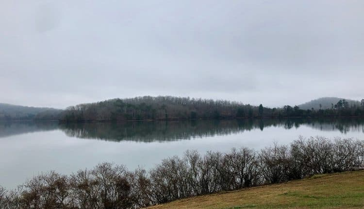 Lake Chatuge in Hayesville, North Carolina. (Photo by Warren LeMay)