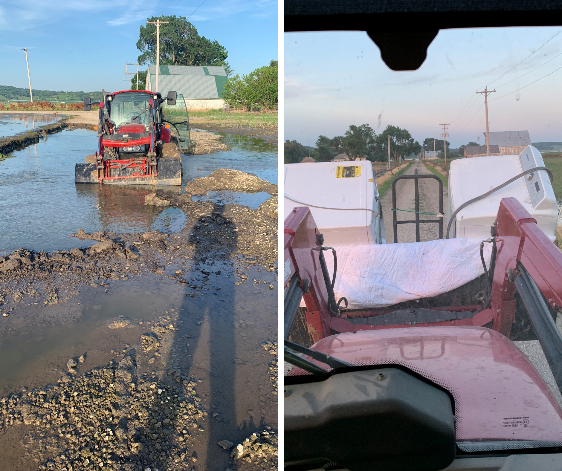 Midwestern Agriculture flooding