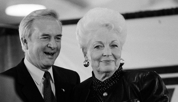 Jim Hunt and Ann Richards 1992