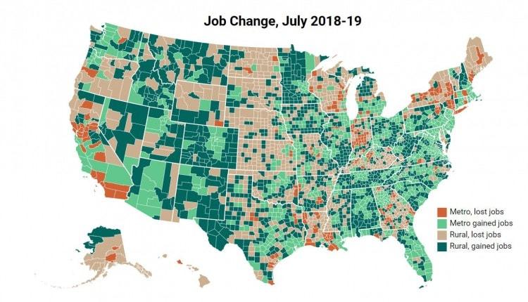 job change july 2018-2019 map edit
