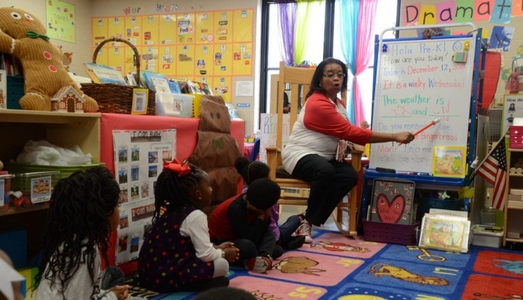 Dr Stephanie Parker Huffman Academy Pre-K education and health outcomes