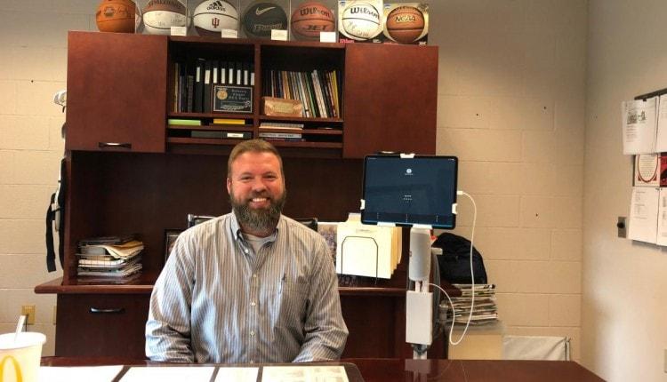Orleans Jr:Sr HIgh School Principal Chirs Stevens