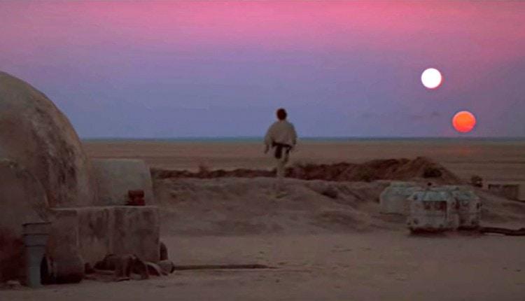 Star Wars Rural Sunset