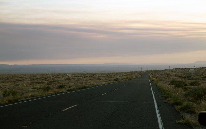 The Hopi Reservation in northeastern Arizona