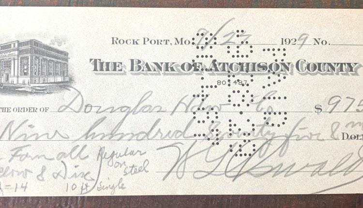 farmall check 1929
