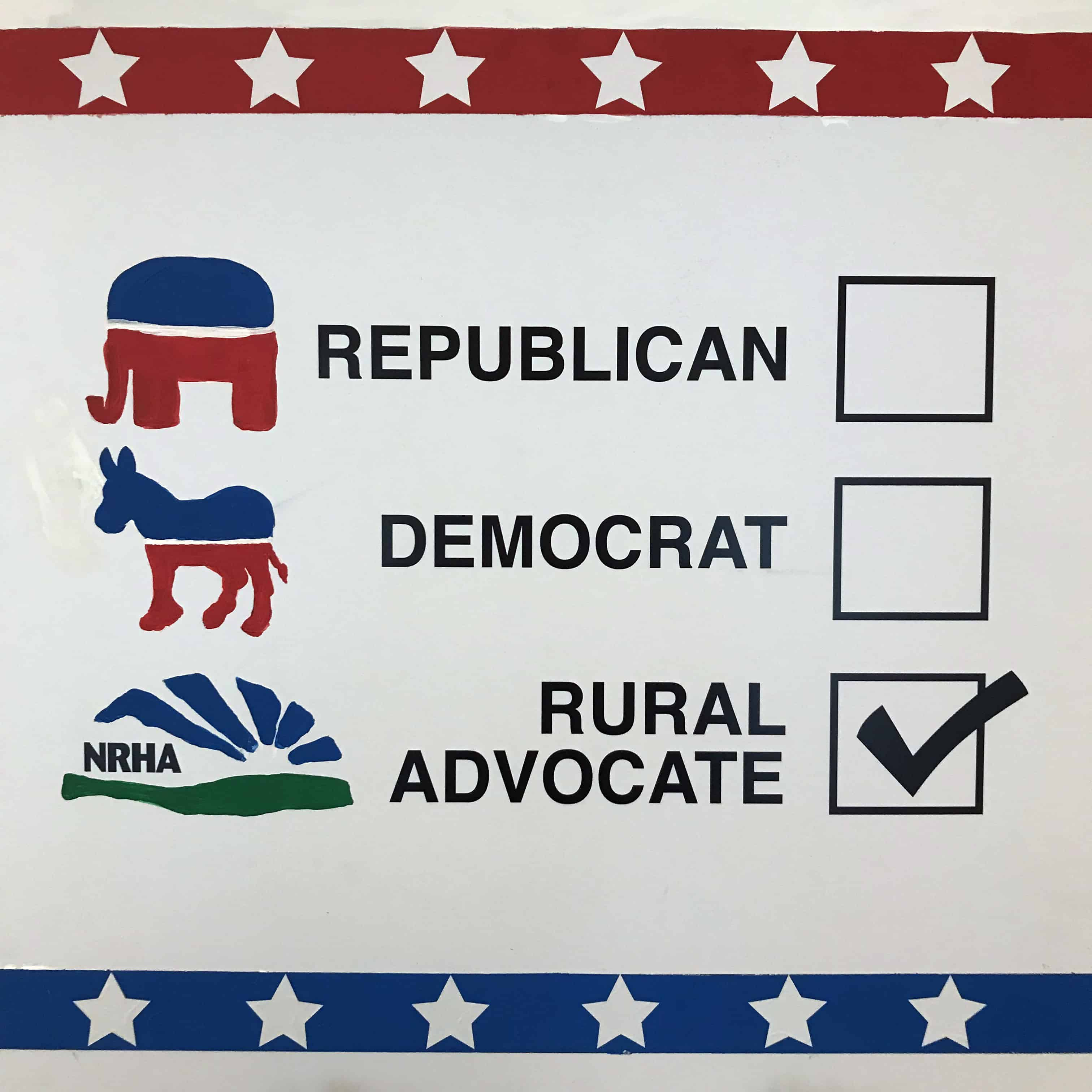 National Rural Health Association Poster